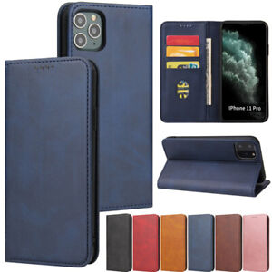 Slim Wallet Leather Flip Case Cover For iPhone 12 11 Pro X XR XS Max 8 Plus SE2