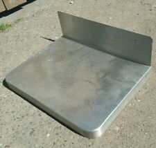 Mini Stainless Steel Prep Counter Top 16x12 With 5 Backsplash Kitchen Rv Table