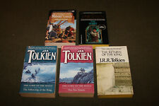 Lot of 5 J.R.R. Tolkien PBs - Lord of Rings Trilogy, Hobbit, Complete Guide