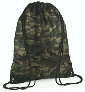 DRAWSTRING CAMO BAG, Great for storing clothing whilst on the bank.