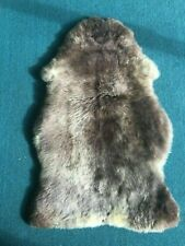 AMAZING RARE BREED SHEEPSKIN RUG NATURAL COLOURED