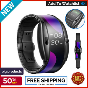 ZTE Nubia alpha Smart Watch Wifi version foldable flexible Oled display Global