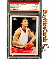 2009 Blake Griffin Topps Chrome Refractor RC Rookie /500 PSA 10 Gem Mint Pop 15