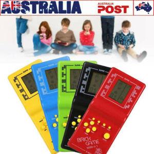 Retro LCD Game Electronic Vintage Tetris Brick Handheld Arcade Pocket Toys