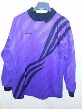 ADIDAS GOALKEEPER PADDED SOCCER JERSEY Purple & Black Medium Goalie USA