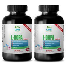 l-dopa powder - L-Dopa 99% Extract 350mg (2) - natural testo booster