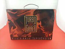 NEC TurboGrafx-16 TG-16 Black Console [Brand New In Box, NEVER PLAYED] TGX