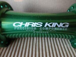 Chris King Classic 32H NOS green front mtb hub Retro kult Golden era