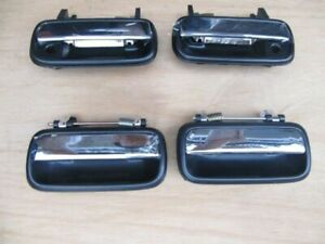 4 PCS Chrome Exterior Outer Door Handle For Toyota Hilux 88-97 4Runner 90-95