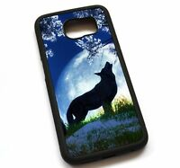 For Samsung Galaxy Note 2 3 4 5 8 Case Cover Howling Wolf N612