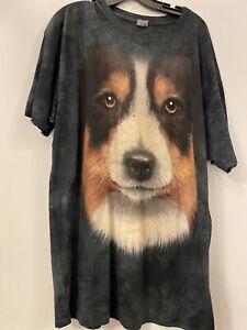 The Mountain Sheltie Dog T-Shirt New Size 3XL