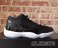 2019 Nike Air Jordan 11 XI Retro Low IE Space Jam Black Concord White 919712-041