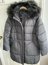 BNWOT ATMOSPHERE GREY PADDED COAT SIZE L(14-16)