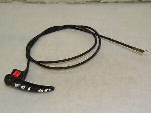 VW FOX 2005 LHD HATCH FRONT BONNET HOOD AOPEN RELEASE HANDLE WITH CABLE