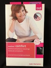Mediven Comfort Pantyhose Size lll 30-40 mmHg Closed Toe Color Ebony 48953