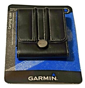 """Garmin GPS Black Carrying Case - For Nuvi 3.5"""" and 4.3"""" - Stretch to Fit - NEW"""