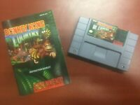 Donkey Kong Country (Super Nintendo Entertainment System, 1994) SNES Manual