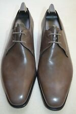 "John Lobb Paul Smith ""Willoughby"" Leather Pebble Grey Shoes UK 8.5 US 9.5 New"
