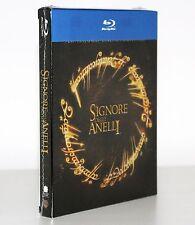 IL SIGNORE DEGLI ANELLI TRILOGIA 3 BLU RAY + 3 DVD ITALIA - SIGILLATO