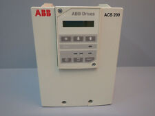 ACS2016P630010  ABB  ACS201-6P6-3-00-10 / AC DRIVE 7.5HP 3PH  USED