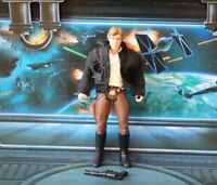 STAR WARS FIGURE 1995 POTF COLLECTION HAN SOLO BESPIN CLOTH JACKET VARIANT