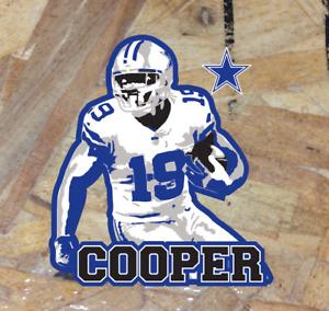"Cooper Amari 19 Dallas Cowboys Fan Sticker Decal Bumper Car Window 3.5"""