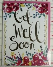 Lovely Get Well Soon Card Greeting Cards Modern Roses