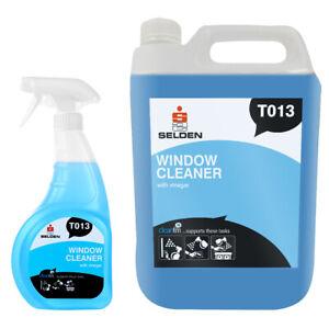 Selden   Window Cleaner with Vinegar   750ml   5 Litre