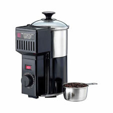 IMEX CR-100 Home Coffee Bean Roaster Tempered Glass Stainless Steel Machine 150g