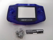 Carcasa para game boy advance alta calidad new azul blue