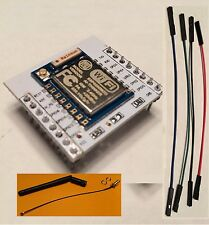 ESP8266 ESP-07 on Mother Brd WIFI+2.4G Ant/Perfect for Arduino/ship 2 biz days