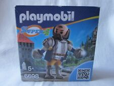 PLAYMOBIL SUPER 4 : CHEVALIER SIRE ULF LE GARDE ROYAL - 6698 / NEUF