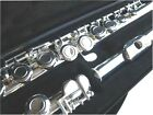 NEW SILVER C FLUTE -  STUDENT SCHOOL BAND FLUTE W/CASE.APPROVED. WARRANTY.