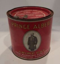 Vintage Prince Albert Crimp Cut Long Burning Pipe & Cigarette Tobacco Tin  #145
