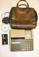 Vintage HP 97 Programmable RPN Printing Calculator w/ case & accessories (WORKS)