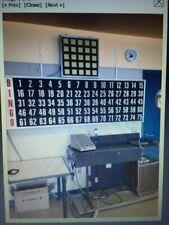 Bingo King 2000 Bingo Machine with Autotronic Flashboard - Working