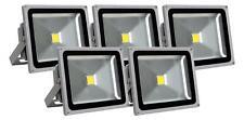 5x LED Aussen Fluter Flutlicht Strahler Outdoor Wasserdicht IP 65 30W