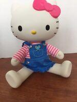 "12""HELLO KITTY DOLL Best Friends Jointed Poseable Denim Dress Sanrio Blip 2013"