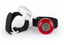 Silva Tyto Front/Back Safety Light - Dual Pack White & Red - Cycling, Running