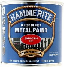 Direct To Rust Metal Paint - Smooth Red- 250ml 5084869 HAMMERITE