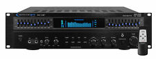Technical Pro RX113BT 1500w Bluetooth Home Receiver Amplifier Amp w/ 10 Band EQ