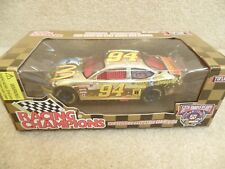 1998 Racing Champions 1:24 Gold NASCAR Bill Elliott McDonald's Moon Man Taurus b