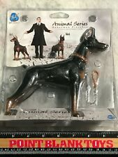 Did Black Doberman Pinscher Animal Series 1/6 Action Figure Toys dam