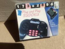 SUDOKU PLUG AND PLAY ELECTRONIC TV VIDEO GAME-WITH KEYCHAIN **new