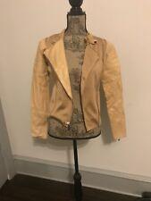 Ralph Lauren Leather Tan Jacket S