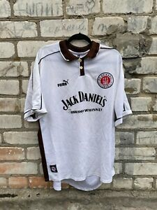 St Pauli Home football shirt 1999 - 2000 jersey size xxl Jack Daniel´s  Puma