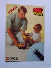 LEGO® Bauanleitung / Instruction Nr. 2920