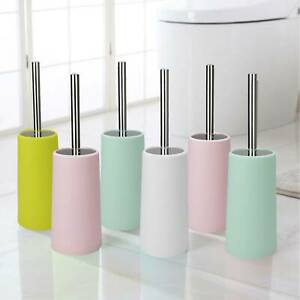 Bathroom Toilet Brush Holder Set Cleaning Bath Cleaner Free Standing Stand new