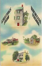 Greetings From Winchester Va Multiview Postcard