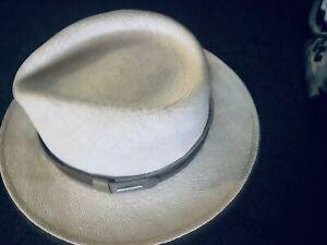 Stetson mens Traveller Hat Pinecrest Panama 3/4